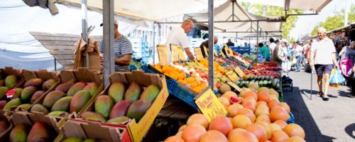 Marktplaats gezond fruit